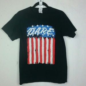 DARE Stars and Stripes T-shirt Small